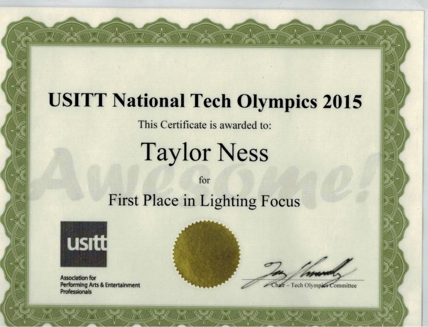 Ness Certificate